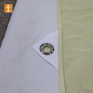 ファブリック布ポスター旗100%年のポリエステルファブリック印