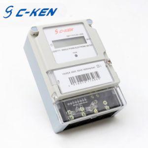 Цифровой дисплей показывает только тип и одна фаза фаза высокого напряжения на ватт энергии дозатора