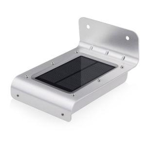 IP65 Resistente al agua 16Motion Sensor solar activa el LED de luz de pared