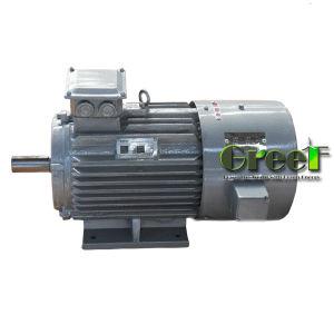 800kw 900rpm RPM basso alternatore senza spazzola di CA di 3 fasi, generatore a magnete permanente, dinamo di alta efficienza, Aerogenerator magnetico