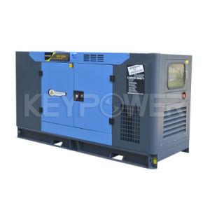 25kVA de geluiddichte Diesel Reeks van de Generator met de Radiator van 50 Graad