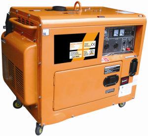 Gruppo elettrogeno diesel silenzioso con l'alta qualità (Jt6000se-1)