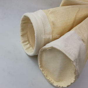 sacchetto filtro materiale del nomex P84 del feltro dell'ago per il filtro a sacco