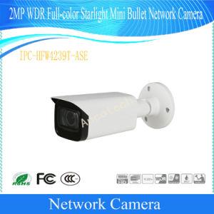 Camera van het Netwerk van de Kogel van het Sterrelicht van de volledig-Kleur van Dahua 2MP WDR de Mini (ipc-hfw4239t-ASE)