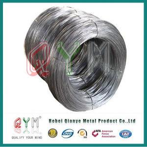 Acier mou recuit de fer noir sur le fil de liaison du fil de fer de la tige de matériaux de construction
