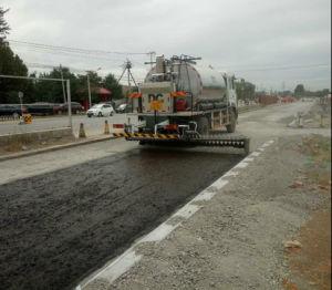 De intelligente Vrachtwagen van de Spuitbus van het Bitumen van de Verdeler van het Asfalt Bespuitende voor de Aanleg van Wegen