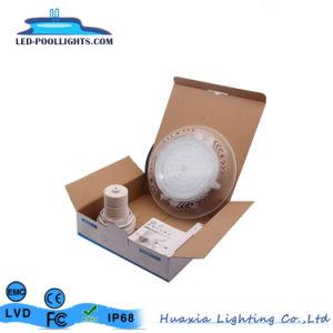 RGB IP68遠隔コントローラが付いている樹脂によって満たされる壁に取り付けられたLEDのプールライト