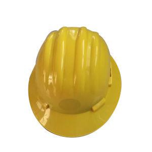 세륨 가득 차있는 테두리 안전 헬멧의 주문 광부 유형