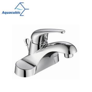 Cupcは4をシングルレベルの洗面所の洗面器のコック証明した