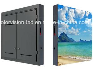 schermo esterno P8 LED di 3.072m x di 5.12m LED che fa pubblicità alla scheda