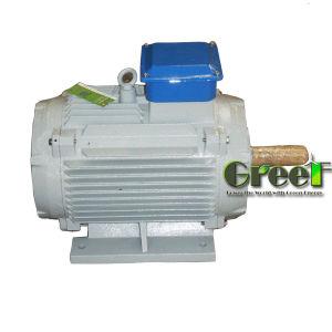Fase 3 de 8 kw AC baixa velocidade/rpm gerador de Íman Permanente síncrona, vento/Água/Potência hidrostática