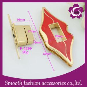 L'epossidico della lega della serratura della borsa del metallo di modo insacca l'orlo Enemal del hardware