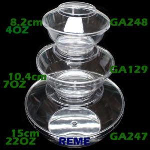 Plastikfilterglocke-Eiscreme-Filterglocke mit Kappen-Tafelgeschirr