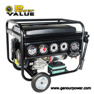 OEM Service와 가진 6kw 220V Portable Gasoline Engine Generator