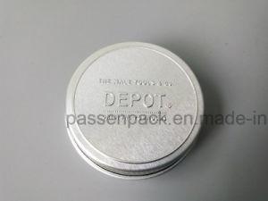 De zilveren Kruik van de Room van het Aluminium met het In reliëf maken (ppc-atc-098)