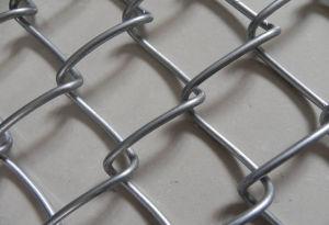 PVC beschichteter heißer eingetauchter galvanisierter Maschendraht-Kettenlink-Zaun