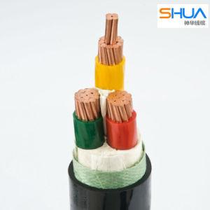 100% de Conductor de cobre del cable de alimentación 0.6/1kv XLPE-Shua