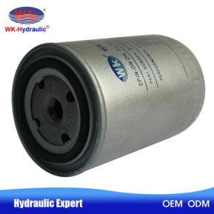 Utilizando el filtro de aceite en el sistema hidráulico