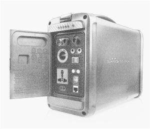 Haut de gamme de système d'alimentation portable pratique générateur (SS-PPS500W)