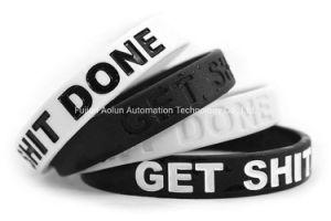 Logo personnalisé bracelet réglable cadeau de promotion de silicium, de la promotion Bracelet en silicone