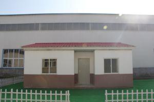 Estructura de acero de buena calidad Panel de hormigón prefabricados ligeros asequibles casa