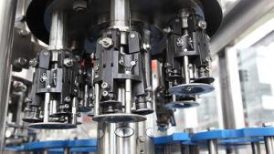 Mise en bouteille en verre de lavage automatique de remplissage et le plafonnement de l'emballage Machine/machines (BCGF24-24-8)
