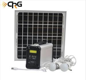 2019 OEM de fábrica Home Kits Gerador Solar Portátil Painel PV da energia do sistema de energia para iluminação Camping