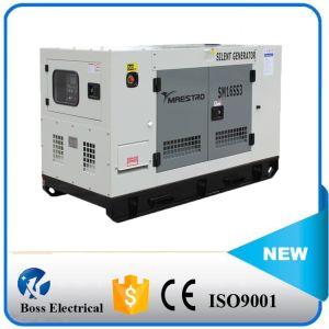 un generatore diesel insonorizzato a quattro tempi 19kw con il motore della Cina Quanchai