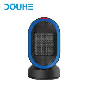 Stufa domestica di ceramica portatile dei riscaldatori di ventilatore elettrico mini con Capovolgere-Sopra protezione e protezione di surriscaldamento