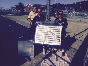 Imperméable IP66 1000W Projecteur à LED pour terrain de football Stadium