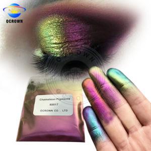 Camaleón de cromo brillante espejo pigmento en polvo de Gel Polish