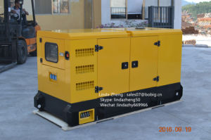 stille Open Diesel 100kw 125kVA Generator met de Motor 6BTA5.9-G2 van Cummins