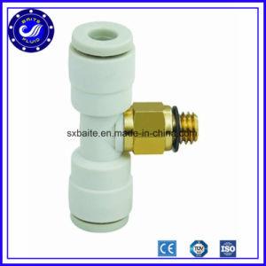 China tubo neumático roscados de los Racores racores neumáticos Metal Plástico PU