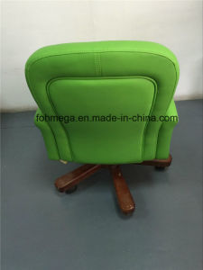 緑(FOH-BOCG)の現代旋回装置のレセプションのホテルの椅子
