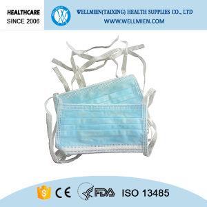 3descartáveis de protecção respiratória ply Nonwoven máscara facial de tirante