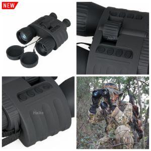 Digital 4X50 Caza táctico el rodaje de la visión nocturna Binocular Cl27-0020 alcance