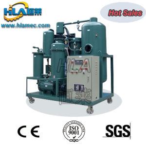 Negro de la máquina de filtración de aceite de motor usado