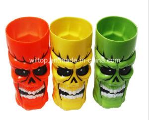 Un surtido de Halloween Skull tazas de plástico (PM132)