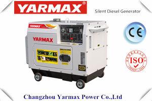 Тип тепловозный генератор 5.5kVA 6.5kVA Ym8500t Yarmax хозяйственный молчком
