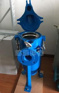 De entrada superior de acero al carbono Caja del filtro de Bolsa Única- Filtro de naves industriales