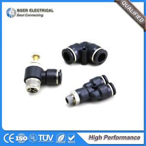 Neumática e hidráulica del tubo flexible de conector rápido montaje