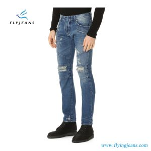 Jeans casuali del denim degli uomini popolari Ep4420