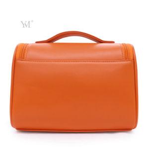Fashion Meilleure vente à bas prix promotionnel Sac en cuir de PVC cosmétique