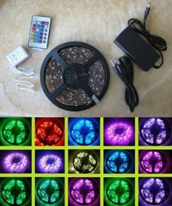 Waterproof 3528SMD 12V SMD RGB Flexible LED Strip