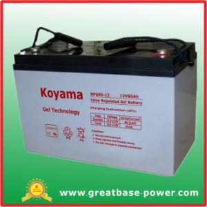 Híbrido de buena calidad del sistema de la energía eólica Batería 12V 85Ah