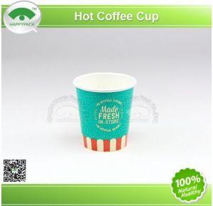 Rizado de taza de café caliente (4, 8, 10 oz)