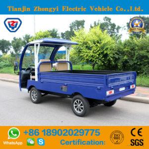Mini Deliverry Zhongyi alimentados por bateria de carro de carga de energia elétrica para a utilização do aeroporto
