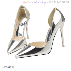 Womens High Heels fait pompes Toe Stiletto chaussures sandales creux