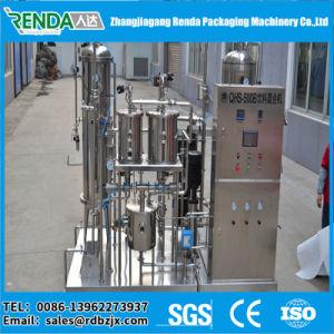 Het Drinken van China Zhangjiagang Sprankelende het Vullen Machine met het Water van het Gas