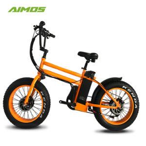 20 Polegadas Pneu gordura 750W Bike Al-Alloy Ebike Eléctrico da Estrutura